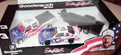 #3 Olympic Car, Dually and Trailer 1/24 by Brookfield