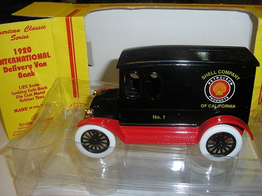 Shell Co. of CA #1 1920 Int'l Delivery Van
