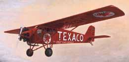 Texaco #6 1929 Curtiss Robin