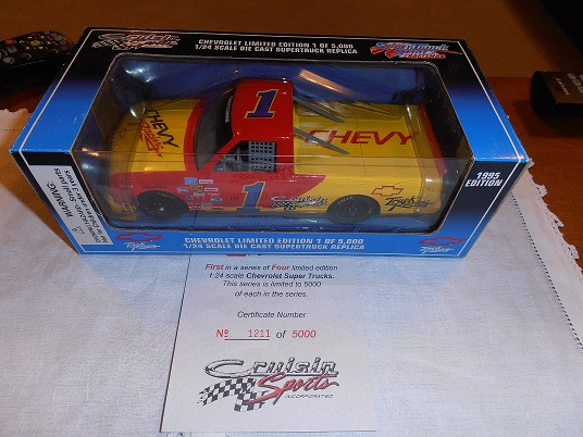 Chevrolet Supertruck #1 1/24 scale 1995 Edition 1211/5000