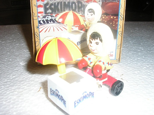 Eskimo Pie Boy on an Ice CreamTricycle