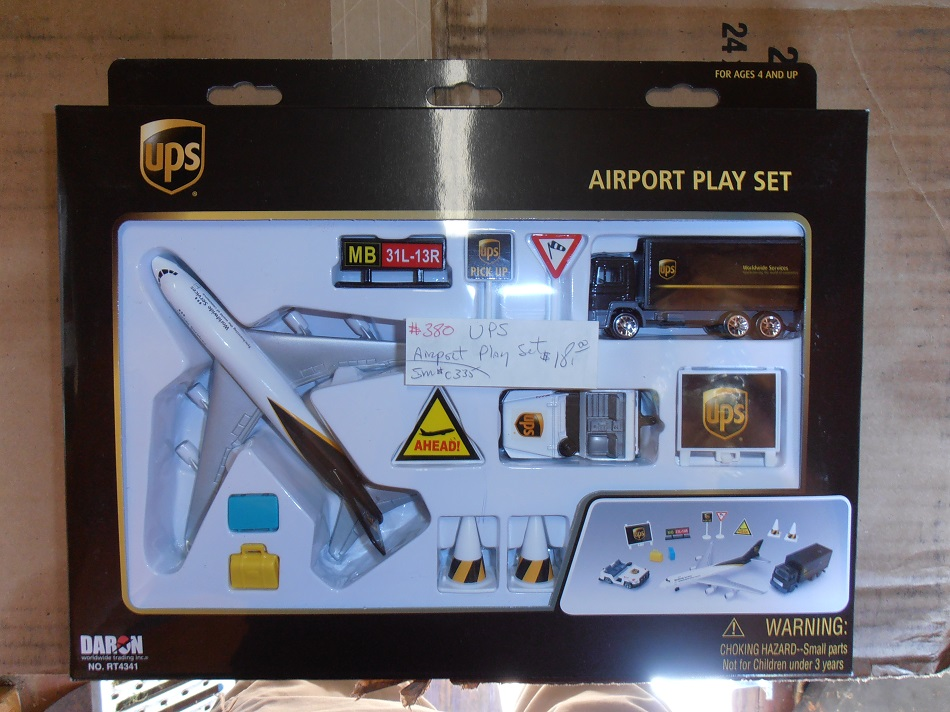 UPS Airline Play Set